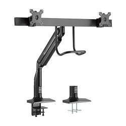 Brateck Dual Monitors Select Gas Spring Aluminum Monitor Arm LDT43-C021