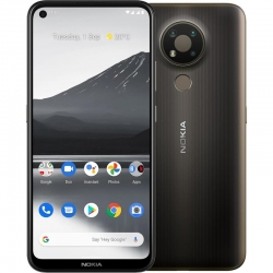 Nokia 3.4 64GB Charcoal - 6.3' HD+ Punch Hole Display, RAM 3GB, Qualcomm Snapdragon 460, HQ5020KR91000