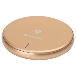 Verbatim Metallic Wireless Charger-GOLD 65795