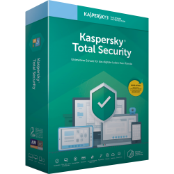 Kaspersky Total Security (KTS) OEM (3 Device 1 Year) Supports PC, Mac, & Mobile KL1949EOCFS