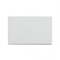 4C | Elegant Blank Rigid Cover Plate (040.0.0112)