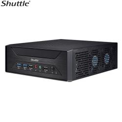 Shuttle XH410G 3-Liter Mini-PC Barebone - H410, LGA1200, 2x DDR4 SODIMM, 1x 2.5' Bay, 1x M.2 2280 Socket,1x PCIe x16, 1x HDMI, 1x VGA (XH410G)