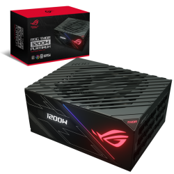 ASUS ROG-THOR-1200P 1200w PLATINUM Power Supply With Aura Sync / OLED (ROG-THOR-1200P)
