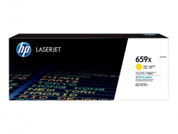 HP 659X YELLOW TONER - HIGH YIELD FOR M776 SERIES  W2012X