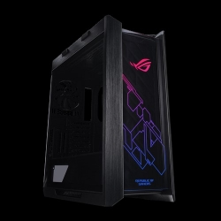 ASUS GX601 ROG Strix Helios Case ATX/EATX Black Mid-Tower Gaming Case With Handle, RGB, 3 Tempered Glass Panels, 4 Preinstalled Fans 3x140mm 1x140mm (GX601 ROG STRIX HELIOS CASE/BK/AL/WITH HANDLE)