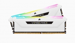Corsair Vengeance RGB PRO SL 32GB (2x16GB) DDR4 3200Mhz C16 White Heatspreader Desktop Gaming Memory (CMH32GX4M2E3200C16W)