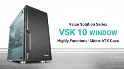 Antec VSK10 Window mATX with True 550w 80+ 85% Efficiency PSU. 2x USB 3.0 Thermally Advanced Builder's Case. 1x 120mm Fan. Two Years Warranty (VSK1055 Window)