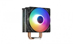 Deepcool GAMMAXX 400 XT CPU Cooler, Dark Top Cover, 6 LED PWM Fan Static Rainboow LED, Intel LGA1200/1151/1150/1155 (DP-MCH4-GMX400-XT)