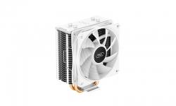 Deepcool GAMMAXX 400 XT White CPU Cooler, Dark Top Cover, 6 LED PWM Fan Static Rainboow LED, Intel LGA1200/1151/1150/1155 (DP-MCH4-GMX400-XT-WH)