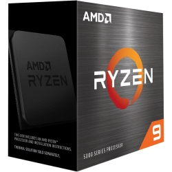 AMD Ryzen 9 5950X Zen 3 CPU 16C/32T TDP 105W Boost Up To 4.9GHz Base 3.4GHz Total Cache 72MB No Cooler (100-100000059WOF-P)