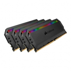 Corsair Dominator Platinum RGB 64GB (4x16GB) DDR4 3200MHz C16 XMP 2.0 White Desktop PC Gaming Memory (CMT64GX4M4E3200C16)