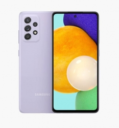 Samsung Galaxy A52 5G 256GB Awesome Violet - 6.5' Super Amoled Display, 8GB/256GB Memory, Water Resistant IP67, 4500mAh Battery (SM-A526BLVFATS)