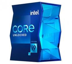 Intel i9-11900K CPU 3.5GHz (5.3GHz Turbo) 11th Gen LGA1200 8-Cores 16-Threads 16MB 125W UHD Graphics 750 Unlocked Retail Box 3yrs Rocket (BX8070811900K)