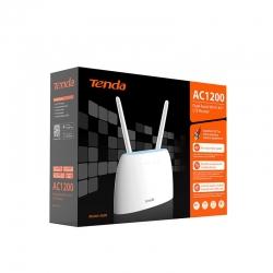 Tenda 4G09 AC1200 Dual-Band Wi-Fi 4G+ LTE Router 802.11, 867Mbps 5GHz, 300Mbps 2.4GHz, Sim Card Slot, 2x Detachable Antenna (4G09)