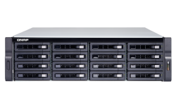 QNAP TS-1683XU-RP-E2124-16G 16-Bay NAS, Intel Xeon E-2124 quad-core 3.3 GHz processor