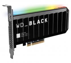 WD Black AN1500 4TB RGB NVMe SSD AIC - 6500MB/s 4100MB/s R/W 780K/710K WDS400T1X0L