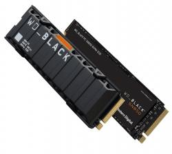 Western Digital WD Black SN850 2TB Gen4 NVMe SSD Heatsink - 7000MB/s 5100MB/s R/W WDS200T1XHE