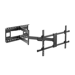 Brateck Extra Long Arm Full-Motion TV Wall Mount For Most 43'-80' Flat Panel TVs Up to 50kg LPA49-483XLD