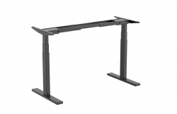 Brateck High performance 3-Stage Dual Motor Sit-Stand Desk M09-23D-B