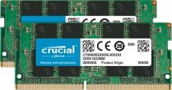 Crucial 32GB (2x16GB) DDR4 SODIMM 2666MHz CL19 1.2V Dual Ranked 2Rx8 Notebook Laptop Memory RAM CT2K16G4SFD8266
