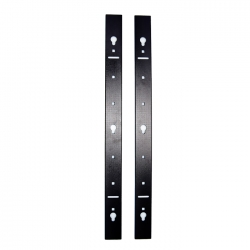 Vertical PDU Mounting Rails. Suitable for Freestanding 18RU Cabinet. Pack of 2 002.004.5018