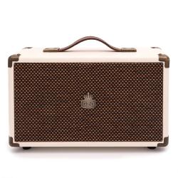 GPO WESTWOOD Bluetooth Speaker - CREAM & TAN GPO-WSTWD-CRT
