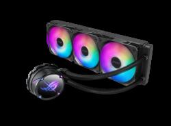 ASUS ROG STRIX LC II 360 ARGB All-in-one Liquid CPU Cooler Aura Sync, Intel LGA 1150/1151/1155/1156/1200/2066