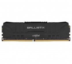 Crucial Ballistix 16GB DDR4 UDIMM 3000Mhz CL15 Black Heat Spreader Desktop Gaming Memory BL16G30C15U4B