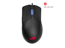 ASUS P514 ROG GLADIUS III Gaming Mouse, Asymmetrical, 26000dpi, Instant Button Actuation, Push-Fit, RGB