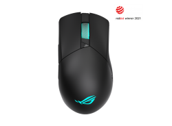 ASUS P706 ROG GLADIUS III WL Wireless Gaming Mouse, USB 2.0, Bluetooth, 26000dpi, Instant Button Actuation, Push-Fit, RGB