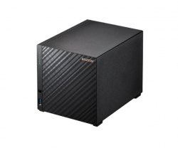 Asustor AS1104T 4 Bay NAS Realtek RTD1296 Quad-Core 1.4 GHz 1GB DDR4 2x 2.5-Gigabit 3x