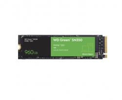 Western Digital WD Green SN350 960GB M.2 NVMe SSD 2400MB/s 1900MB/s R/W 80TBW WDS960G2G0C