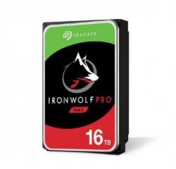 Seagate 16TB 3.5' IronWolf PRO SATA3 NAS 24x7 Performance 7200 RPM 256MB Cache HDD. (ST16000NE000) 5 Years Warranty