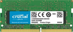 Crucial 8GB (1x8GB) DDR4 SODIMM 2400MHz CL17 1.2V Single Ranked Single Stick Notebook Laptop Memory (CT8G4SFS824A-P)