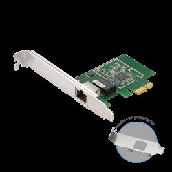 Edimax EN-9225TX-E 2.5 Gigabit Ethernet PCI Express Server Adapter, PCIE Gen 2 x 1, 16K Jumbo Frames, Supports IEEE 802.1Q/QOS/VLAN ID Tagging (EN-9225TX-E)