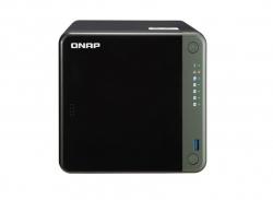 QNAP TS-453D-4G 4-Bay NAS Intel Celeron J4125 quad-core 2.0 GHz processor 4 GB DDR4 (1 x 4 GB) 64-bit 4 x 3.5-inch SATA 2 x2.5 Gigabit Tower 3yr war