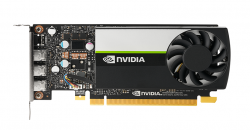 NVIDIA Quadro Turing T400 Workstation GPU, 2GB GDDR6, PCI-E 3.0 x16, 384 NVidia CUDA Cores, 3x mDP 1.4 900-5G172-2500-000