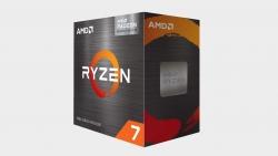 AMD Ryzen 7 5700G AM4 CPU, 8-Core/16 Threads, Max Freq 4.6GHz, 20MB Cache, 65W, Vega GFX + Wraith Cooler (AMDCPU) (RYZEN5000) 100-100000263BOX