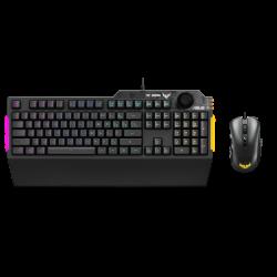 ASUS CB02 TUF GAMING COMBO with K1 RGB Keyboard & M3 optical gaming mouse