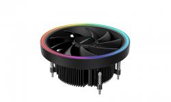 Deepcool UD551 ARGB CPU Cooler for AMD AM4 Top Flow Cooling Solution, 136mm Fan, R-UD551-BKAMAB-G-1