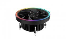 Deepcool UL551 ARGB CPU Cooler for Intel 1200/1151/1150/1155 Top Flow Cooling Solution, 136mm Fan, R-UL551-BKAMAB-G-1