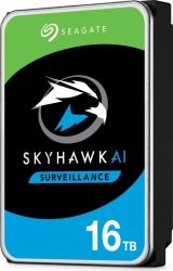 Seagate 16TB 3.5' SkyHawk AI Surveillance SATA HDD 256MB Cache, 7200RPM ST16000VE002