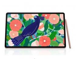 Samsung Galaxy Tab S7+ Wi-Fi 128GB Mystic Bronze - S-Pen, 12.4' Display, Qualcomm Snapdragon Processor, SM-T970NZNAXSA