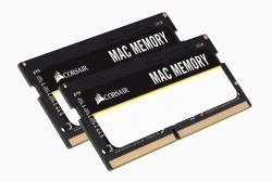 Corsair 64GB (2x32GB) DDR4 SODIMM 2666MHz C18 1.2V MAC Memory for Apple Macbook Notebook RAM CMSA64GX4M2A2666C18