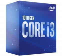 Intel Core i3-10100F CPU 3.6GHz (4.3GHz Turbo) LGA1200 10th Gen 4-Cores 8-Threads 6MB 65W BX8070110100F-P