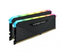 Corsair Vengeance RGB RT 32GB (2x16GB) DDR4 3600MHz C16 16-20-20-38 Black Heatspreader CMN32GX4M2Z3600C16