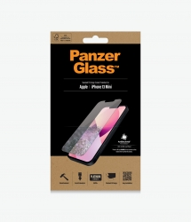 PanzerGlass Standard Fit Screen Protector For Apple iPhone 13 Mini - Full Frame Coverage, Rounded Edges, Scratch, Shock resistant 2741