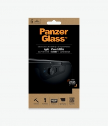 PanzerGlass Privacy + CamSlider Screen Protector For Apple iPhone 13 - Black - Full Frame Coverage P2748