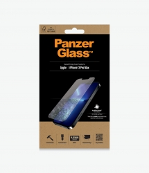 PanzerGlass Standard Fit Screen Protector For Apple iPhone 13 Pro Max- Full Frame Coverage, Rounded Edges, Scratch, Shock resistant 2743