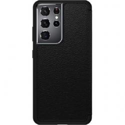 OtterBox Strada Series Case For Samsung Galaxy S21 Ultra 5G - Black 77-81237
